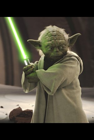 Yoda, fighting spirit